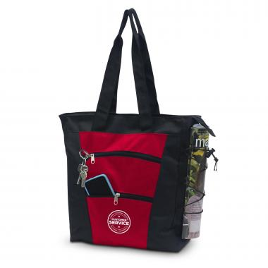 Customer Service Tiered Tote Bag