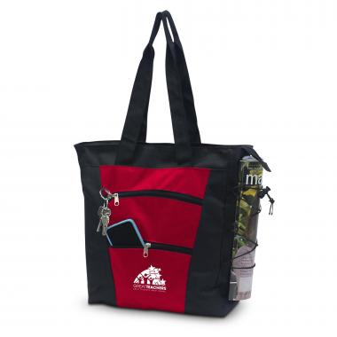 Great Teachers Tiered Tote Bag