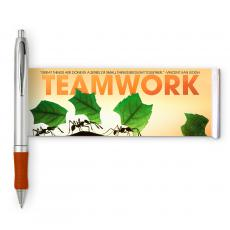 Motivational Image Pens - Teamwork Ants Banner Pen