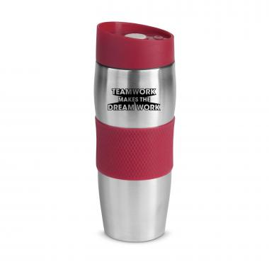 Teamwork Dream Work Checker 16oz. Tumbler