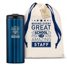 Vacuum Insulated - The Slimline - Behind Every Great School 12oz. Tumbler