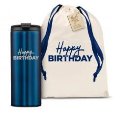 Vacuum Insulated - The Slimline - Happy Birthday 12oz. Tumbler