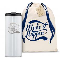 Vacuum Insulated - The Slimline - Make it Happen 12oz. Tumbler