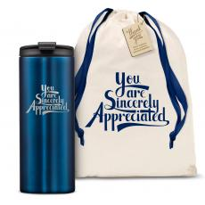 Vacuum Insulated - The Slimline - Sincerely Appreciated 12oz. Tumbler