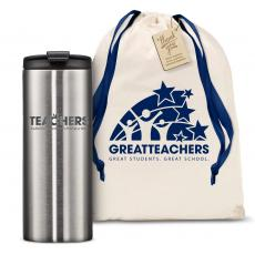 Vacuum Insulated - The Slimline - Teachers Building Futures 12oz. Tumbler