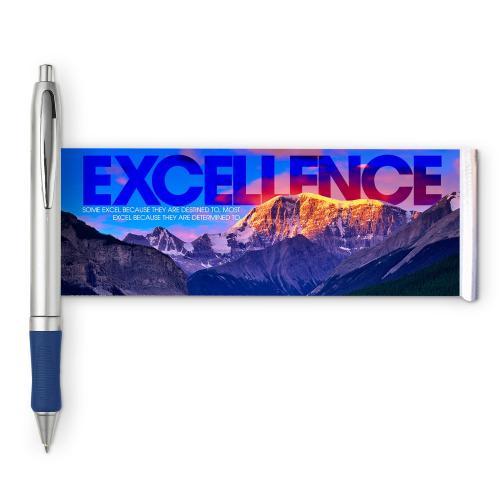 Excellence Mountain Banner Pen