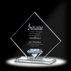 Trophy Awards - Diamond Substratum Crystal Award