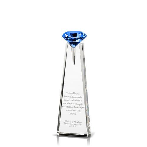 Diamond Pillar Crystal Award