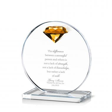Diamond Victoria Crystal Award