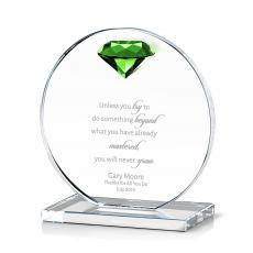 Trophy Awards - Diamond Victoria Crystal Award