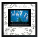 Essence of Leadership Framed Signature Motivational Poster