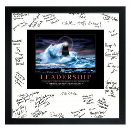 Leadership Lighthouse Signature Frame