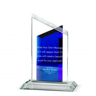 Double Peak Crystal Award