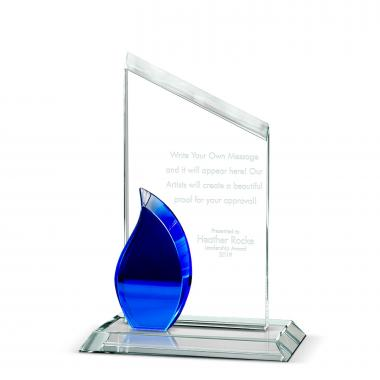 Flame Peak Crystal Award