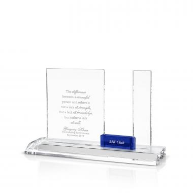 Progress Perpetual Recognition Crystal Award