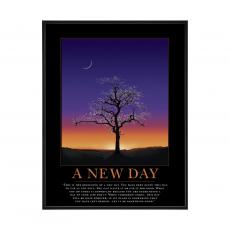 Mini Motivational Posters - A New Day Mini Motivational Poster