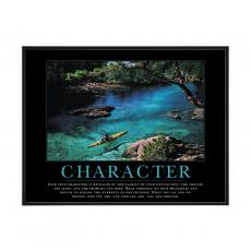 Mini Motivational Posters - Character Kayaker Mini Motivational Poster
