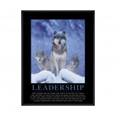 Mini Motivational Posters - Leadership Wolves Mini Motivational Poster