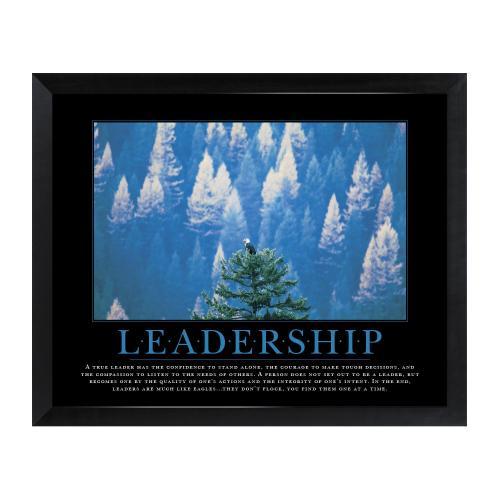 Leadership Eagle Mini Motivational Poster