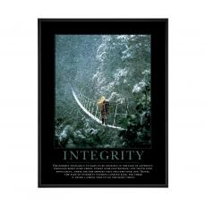 Mini Motivational Posters - Integrity Bridge Mini Motivational Poster