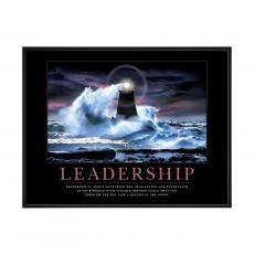 Motivational Posters - Leadership Lighthouse Mini Motivational Poster