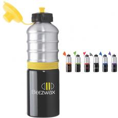 Drinkware - 25 oz. PBA-Free aluminum water bottle with sipper lid