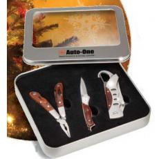 Drinkware - Windowed Tin Box 3-Piece Tool Set