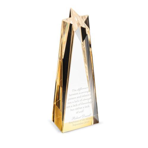 Aspire Star Tower Acrylic Award