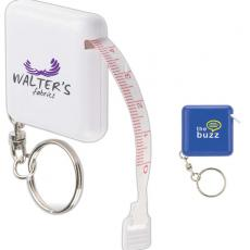 Office Supplies - Soft Tape Measure Keyring