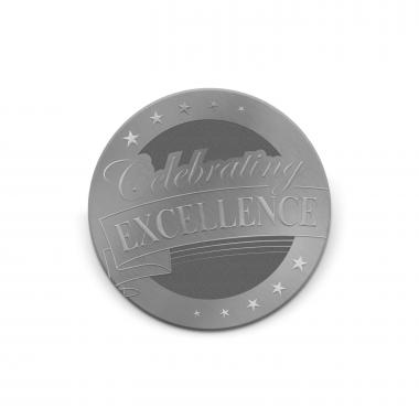 Celebrating Excellence Medallion Challenge Coin