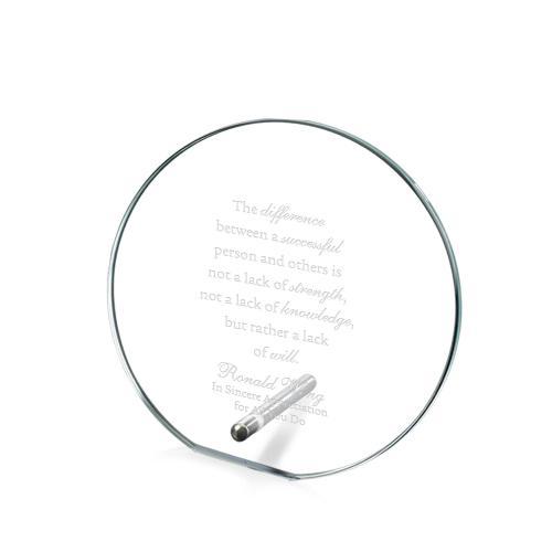 Ring Pin Crystal Award