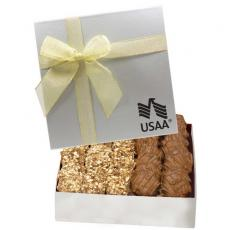 Candy, Food & Gifts - The Chairman Butter Crunch & Turtle Holiday Food Gift Box