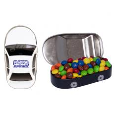 Health & Safety - Car Mint Tin with Chocolate Littles