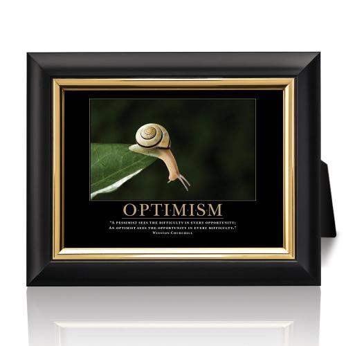 Optimism Snail Desktop Print