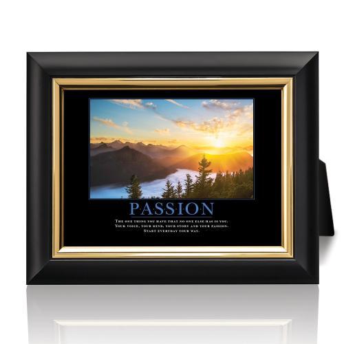 Passion Sunrise Desktop Print