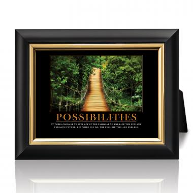 Possibilities Wooden Bridge Desktop Print