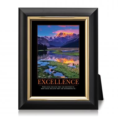 Excellence Mountain Desktop Print