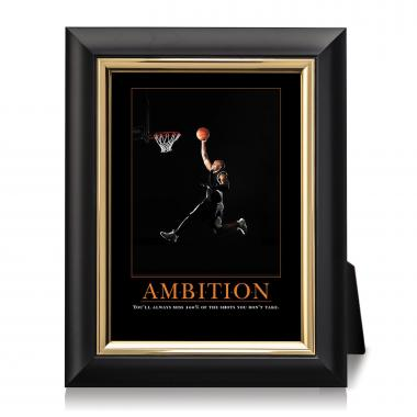Ambition Basketball Desktop Print