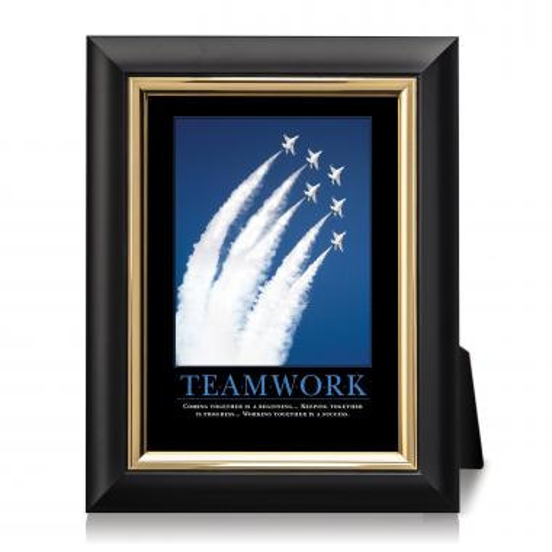 Teamwork Jets Desktop Print