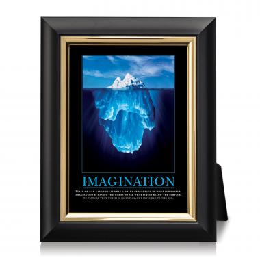 Imagination Iceberg Desktop Print