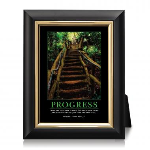 Progress Staircase Desktop Print