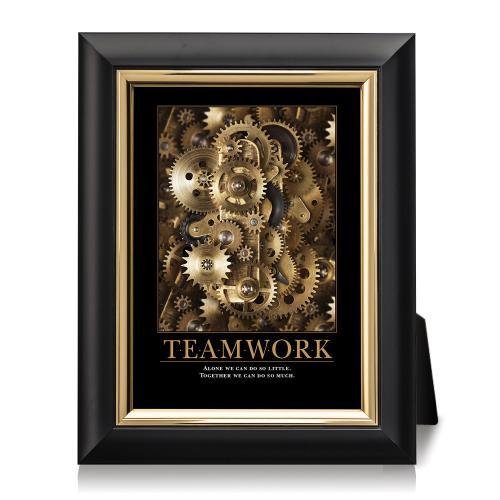 Teamwork Gears Desktop Print