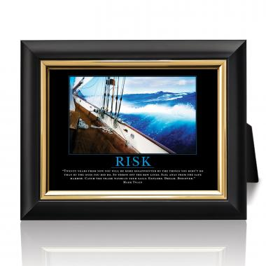 Risk Sailboat Desktop Print