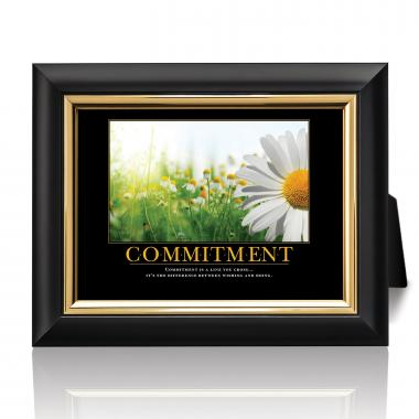 Commitment Daisy Desktop Print