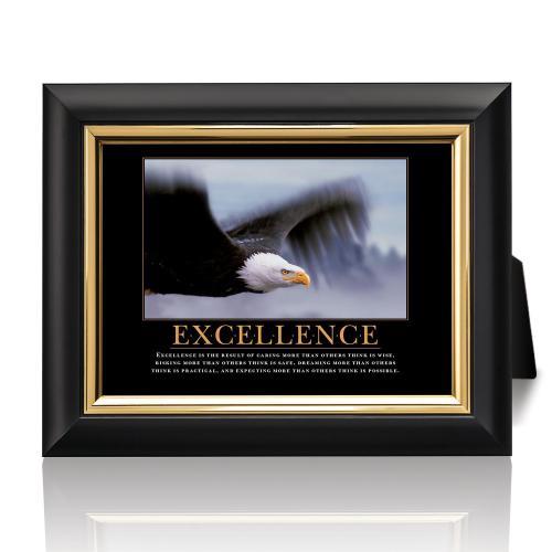 Excellence Eagle Desktop Print