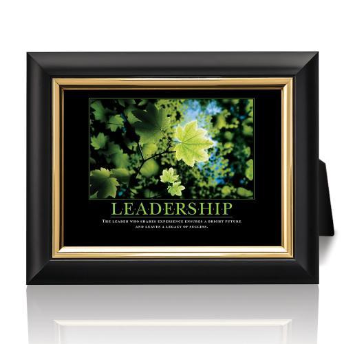 Leadership Leaf Desktop Print