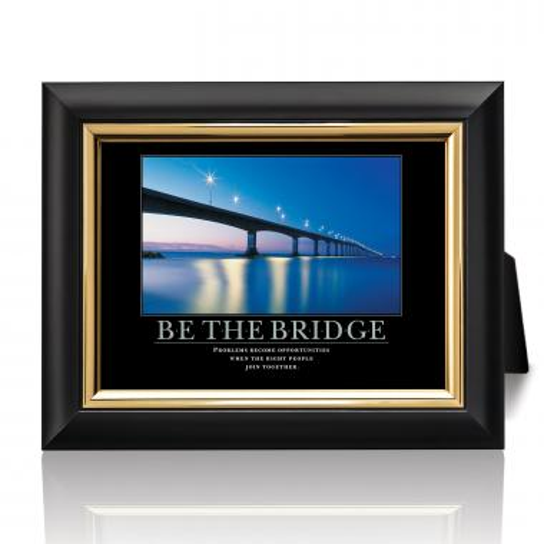 Be The Bridge Desktop Print