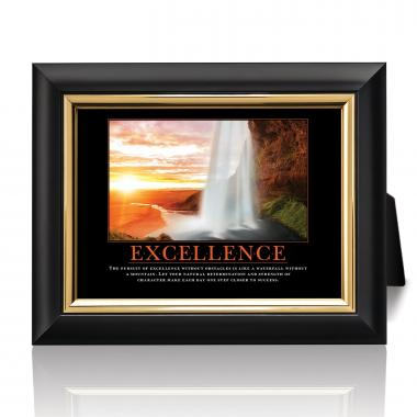 Excellence Waterfall Desktop Print