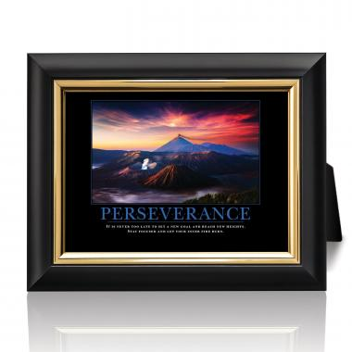Perseverance Volcano Desktop Print
