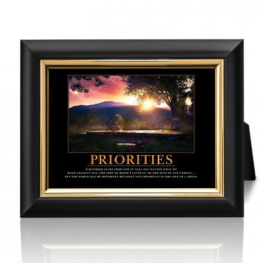 Priorities Bridge Desktop Print